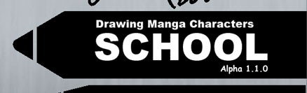Drawing Manga Characters School Save Screen Screenshot