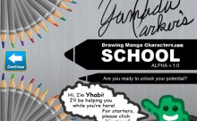 drawing-manga-characters-school-title-screen